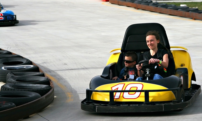 Adventure Speedway - Wheatfield: Admission to Three Attractions and Sodas for One, Two, or Four at Adventure Speedway (44% Off)