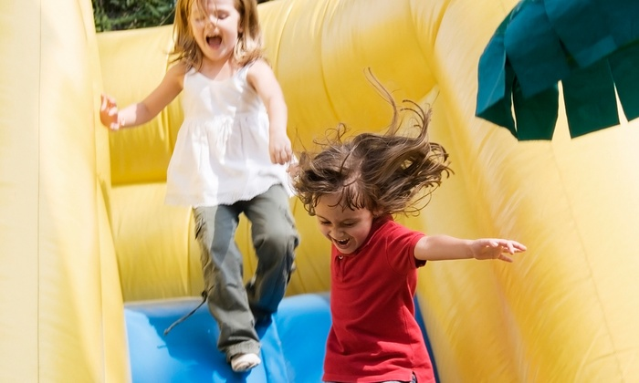 Fun 4 Hours - Frederick: Party Package with Moonbounce and Balloons, or Eight-Hour Moonbounce Rental from Fun 4 Hours (Up to 54% Off)