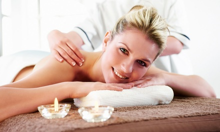 One or Two 60-Minute Aromatherapy Massages at The Finished Look Salon & Spa (Up to 55% Off)
