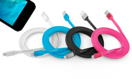 Merkury Innovations 6ft Apple-Certified Lightning Charge/Sync Cable