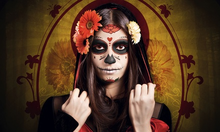 General or VIP Admission and Beer for One or Two People to the Dia de los Muertos Block Party (Up to 56% Off)