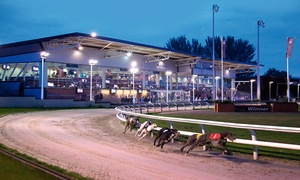 Drumbo Park: Entry to Greyhound Races with a Race Card, Burger and Drink for One, Two or Four at Drumbo Park