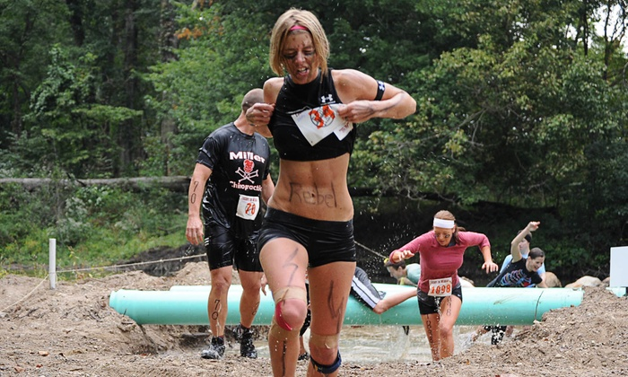 Rebel Race - 10: 5K or 15K Obstacle-Course Rebel Race with Optional Camping (Up to 54% Off)