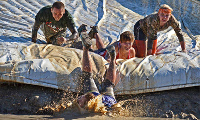 Survivor Mud Run - Glenn Heights: Survivor Mud Run for One or Two with T-shirt and Race Bib on Saturday, October 19 (Up to 51% Off)