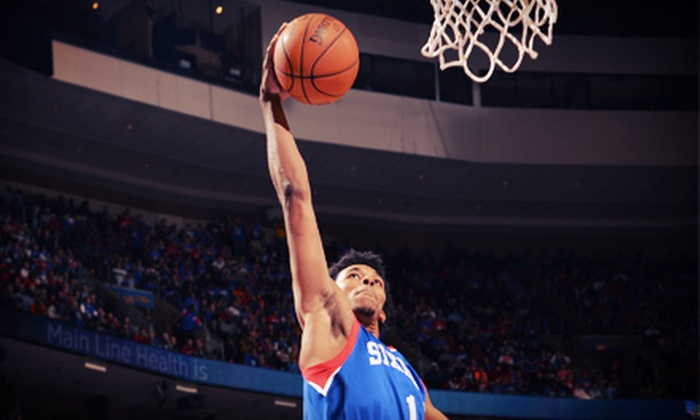 Philadelphia 76ers - Wells Fargo Center: Philadelphia 76ers Game Package at Wells Fargo Center on January 15 (Up to 75% Off). Three Seating Options Available.