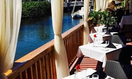 Seafood and Italian Cuisine at Big Fish (Up to 50% Off). Three Options Available.