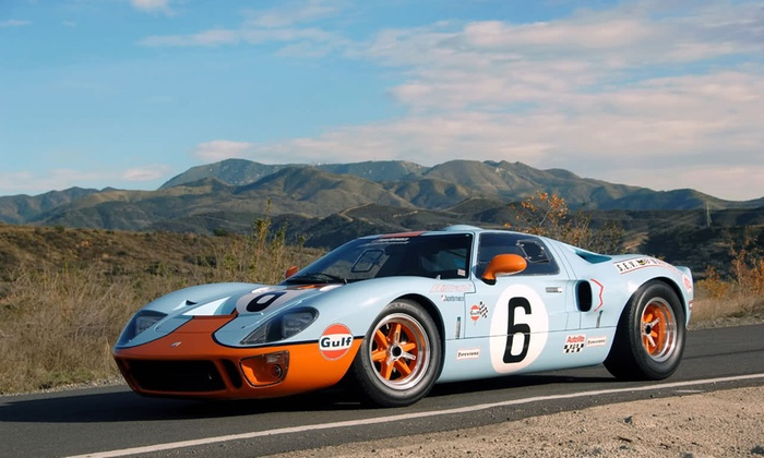 Car Chase Heroes - Multiple Locations: Three, Six or Nine Laps in a Ford GT40 at Car Chase Heroes (Up to 61% Off)