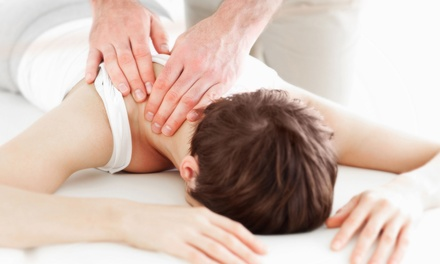 Chiropractic Package with Exam, Treatment and One or Three Massages at Knight Gamble Chiropractic (Up to 78% Off)