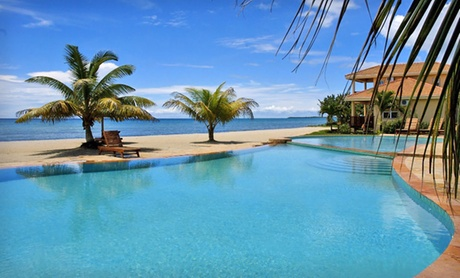 Beachfront Resort near Belize's Barrier Reef