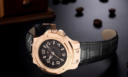 Montre Black Label Design collection Manis, 3 ATM, à 29.90 €, livraison offerte