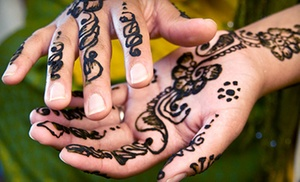 Emerald's Artistry Facepainting & Henna: $88 for $160 Worth of Body-Art Services from Emerald's Artistry Facepainting & Henna