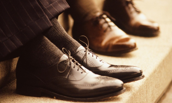Ego Shoe Shine - Downtown - Penn Quarter - Chinatown: Men's Shoes and Accessories at Ego Shine Company (44% Off)