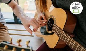 Escola de Música Nelson Musical: 1 ou 2 meses de aula de música 1 vez por semana na Escola de Música Nelson Musical – Balneário