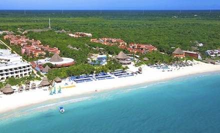 3-, 4-, 5-, or 7-Night All-Inclusive Stay for Two at Catalonia Playa Maroma in Riviera Maya, Mexico; Incl. Taxes & Fees