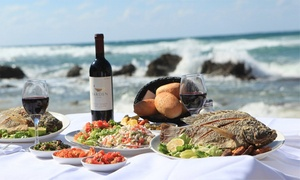 """מסעדה בני הדייג בראשון לציון: בני הדייג פותח את הקיץ בסניף היפהפה בחוף ראשל""""צ: ארוחת מלכים זוגית רק ב-198 ₪! פתיחים ללא הגבלה, יין, עיקריות, קינוח ועוד"""
