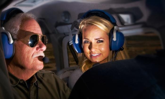 Burlington Aviation - 12, Burlington: $79 for a Flight-Simulator Session and Introductory Flight Lesson from Burlington Aviation ($160 Value)