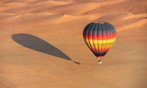 Balloon Adventures: Hot Air Balloon Ride for One or Two, or Charter for Up to 24 with Balloon Adventures Emirates