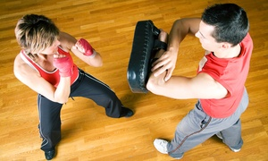 Just Train Fitness ·	Martial Arts · Performance: 5 or 10 Kickboxing or Martial-Arts Classes at Just Train Fitness ·	Martial Arts · Performance (Up to 76% Off)