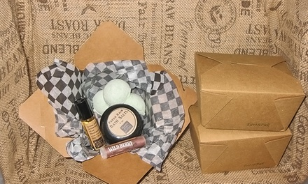 $20 for a Handmade Eco Girl Bath Set With Aroma Roll-On and Bath Salts at Wood's Body Goods ($42.50 Value)