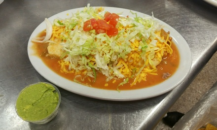$12 for $20 Toward Mexican Cuisine and Drink at Alberto's Express