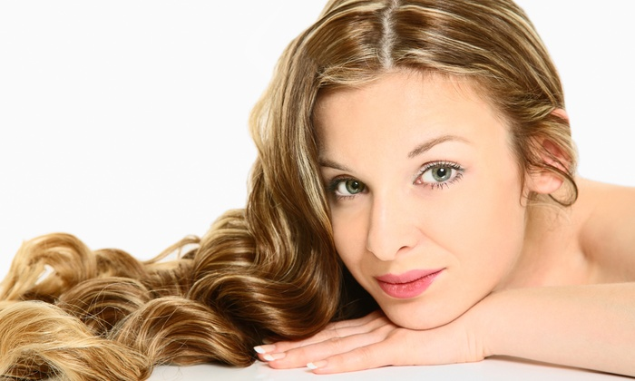 Marina's Hair Design - Goldenwest: Haircut and Deep Conditioning with Blow-Dry, Partial Highlights, or Full Color at Marina's Hair Design (Up to 52% Off)
