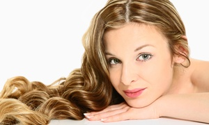 Marina's Hair Design: Haircut and Deep Conditioning with Blow-Dry, Partial Highlights, or Full Color at Marina's Hair Design (Up to 52% Off)