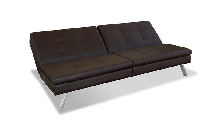 Serta Convertible Lounger Sofas Groupon Goods