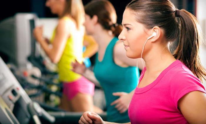 Anytime Fitness - Evansville: One-Month Gym Membership with One or Three Personal Training Sessions at Anytime Fitness (Up to 64% Off)