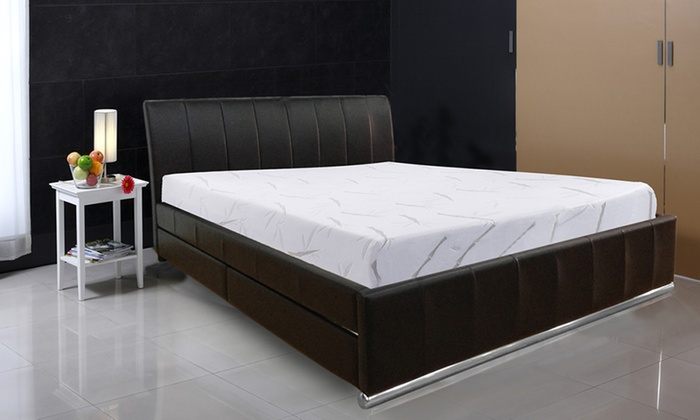 Lit espace tiroir et matelas orthosense sampur groupon shopping - Matelas pour lit tiroir ...