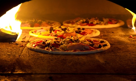 Pizza Lunch or Pasta Dinner for Two at Hey Mambo (Up to 41% Off)
