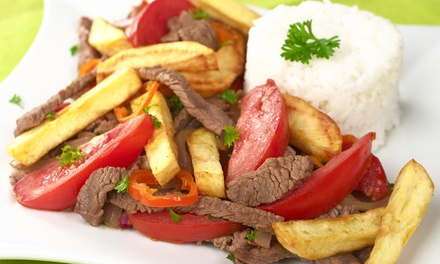 Peruvian Dinner Cuisine at Se Llama Peru (50% Off). Two Options Available.