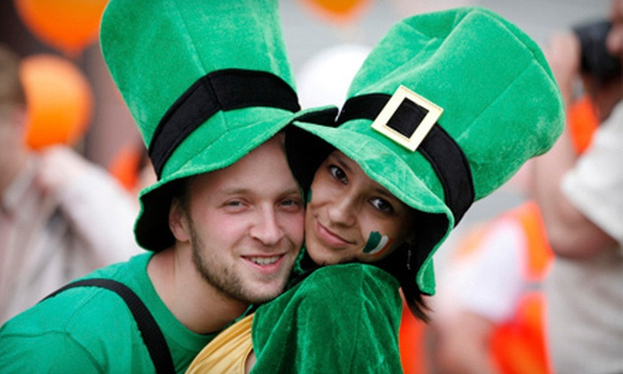 Barcrawls.com - Multiple Locations: Three-Day St. Patrick's Day Party for One, Two, Four, or Six on March 15–17 from Barcrawls.com (Up to 59% Off)