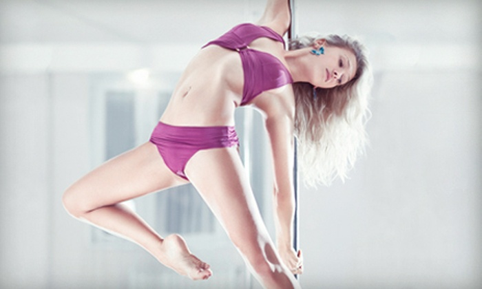 Core Fitness & Pilates - Southview: 90-Minute Pole-Dancing or Burlesque Fitness Workshop for One or Two at Core Fitness & Pilates (Up to 59% Off)