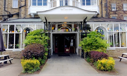 Harrogate: 1-2 Nights for Two with Breakfast, Wine, Tea or Coffee with Biscuits and Optional Dinner at The Cairn Hotel