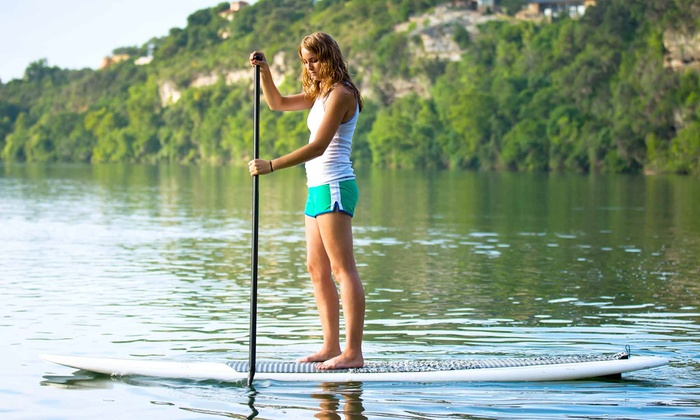 Paddleboard Adventure - Hancock: Paddleboard Yoga Classes or Nature Tours at Paddleboard Adventure (Up to 53% Off). Three Options Available.