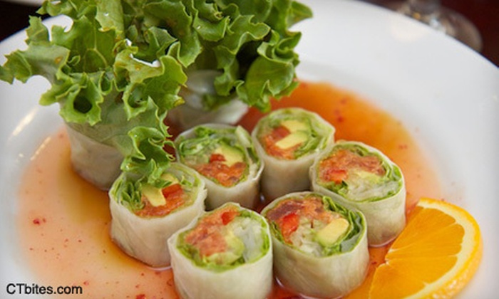 Bistro 88  - Saugatuck: Asian Fare and Sushi for Parties of Four or More or $15 for $30 Worth of Asian Fare and Sushi at Bistro 88 in Westport