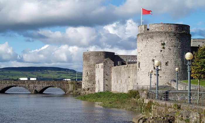 Irish Countryside Vacation with Round-Trip Airfare - Limerick City Hotel or Absolute Hotel : 8-Day Vacation in Irish Countryside with Round-Trip Airfare from JFK, BOS, ORD, or LAX from Great Value Vacations