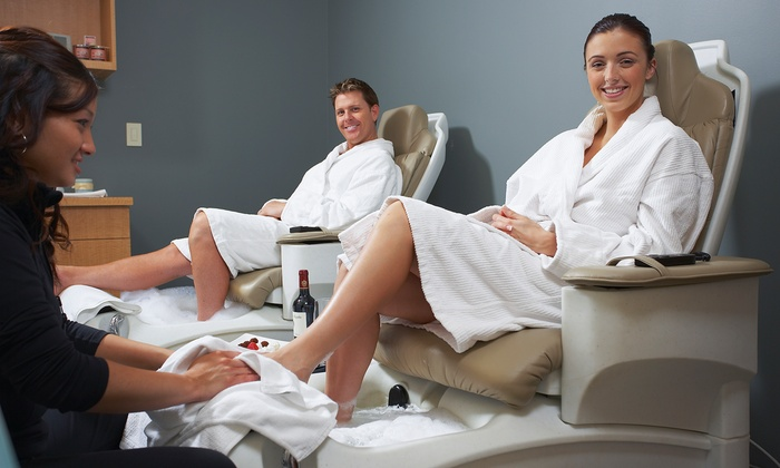 Euro International Salon - Clear Lake: Salon Packages for Men or Women with Facials and Mani-Pedis at Euro International Salon (Up to 54% Off)