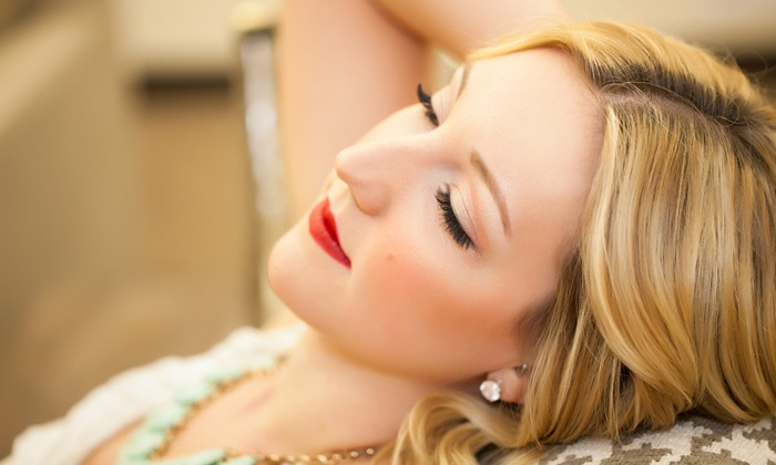 Sophia Lash Bar - Jenks: Full Set of Faux Mink Eyelash Extensions with Optional Refill Appointment at Sophia Lash Bar (Up to 74% Off)