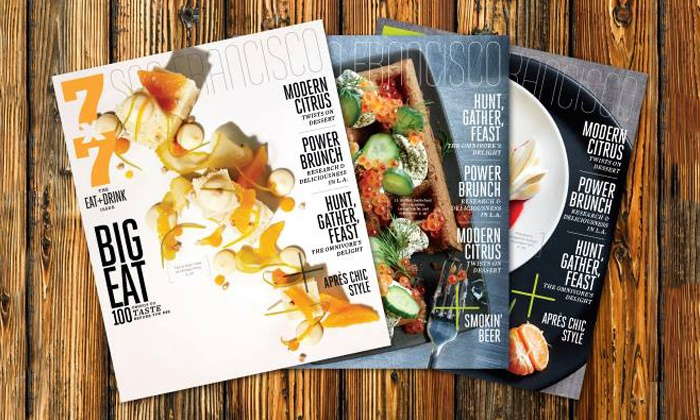 """7x7 magazine: $7 for a One-Year Subscription to """"7x7"""" Magazine with E-Newsletter ($15 Value)"""