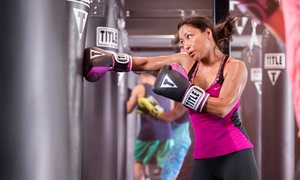 Up to 65% Off Fitness Classes at TITLE Boxing Club at TITLE Boxing Club, plus 6.0% Cash Back from Ebates.