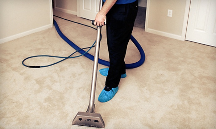 NYCS Janitorial - Buffalo: Carpet Cleaning for 3 or 8 Rooms or 4 Rooms with Optional Enzyme Deodorizer from NYCS Janitorial (Up to 54% Off)