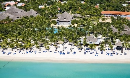 Groupon Deal: 5-Night Dominican Vacation with Hotel and Airfare from Travel by Jen; Price/Person Based on Double Occupancy