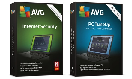 Package AVG Internet Security et PC Tune Up 2019