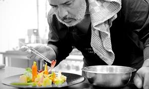 l'éveil des sens-Montigny: Sterrenmenu, 5 of 8 gangen, voor 2 of 4 personen vanaf € 154,99 bij restaurant L'Eveil Des Sens