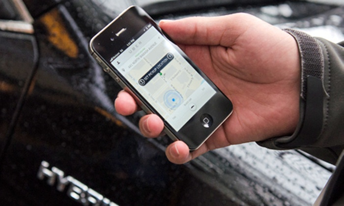 Uber - Chicago: $5 for $25 Worth of uberX and Other Car Services from Uber