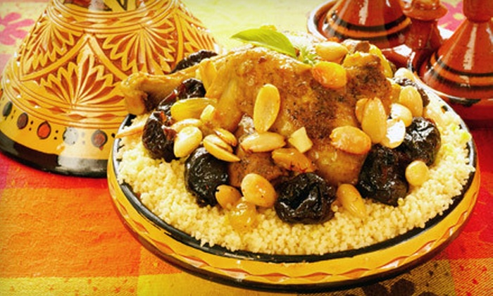 Taste of Morocco - Lyon Village: Dine-In or Catered Moroccan Fare at Taste of Morocco in Arlington (Up to 60% Off)