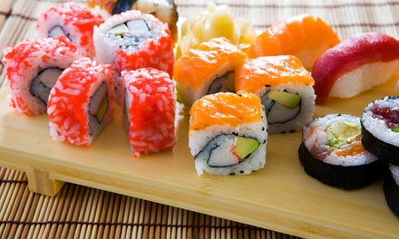 Japanese Cuisine at Nagoya Japanese Cuisine & Sushi Bar (Up to 47% Off). Three Options Available.