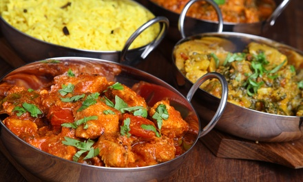 $12 for $20 Worth of Indian Food at The Taj Cafe