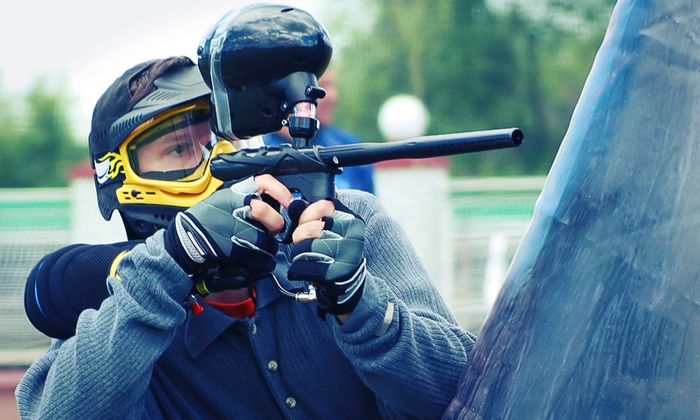 Celebration Station - Towne Crossing: Two-Hour Field Paintball Pass for One,Two, or Four at Celebration Station (35% Off)